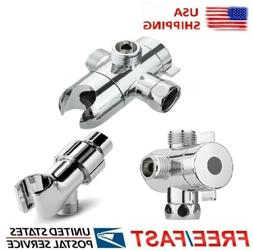 "1/2"" 2-3way Diverter Adapter Shower Head Shower Arm Mounted"