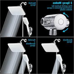 10'' Baban 3 Setting High Pressure Rainfall Shower Head Comb