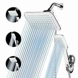 10'' Rainfall Shower Head Combo High Pressure Dual Shower He
