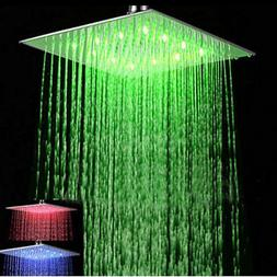 10'' Shower Head Square Top Sprayer Ultrathin Brushed Nickel