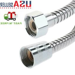 10FT/3M Stainless Steel Shower Head Hose Extra Long  Hand He