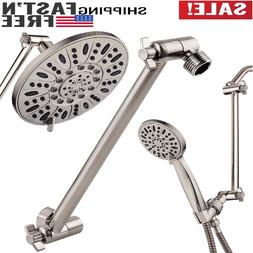 """11"""" Solid Brass Adjustable Shower Extension Arm Lock Joints"""