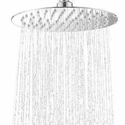 12 Inch Round Rain Shower Head Polish Chrome High Pressure R