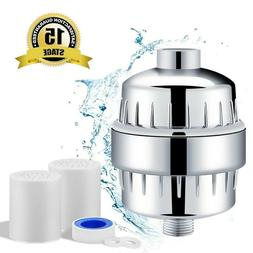 15-Stage High Output Shower Water Filter with Vitamin C