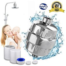 15-Stage Shower Filter Water Purifier Hard Water Softener wi