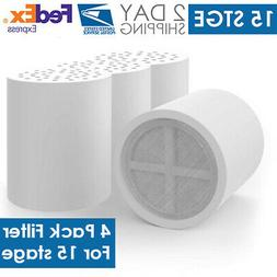 15 Stage Shower Head Replacement Filter Cartridge Chlorine H