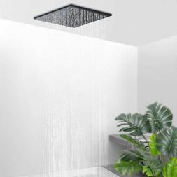 """10""""Oil Rubbed Bronze Rain Shower Head Square Large Overhead"""