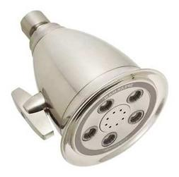 SPEAKMAN S-2005-HB-BN-E2 Low Flow Shower Head, Fixed,1/2 in.