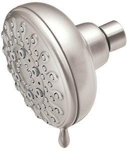 Moen 23016SRN 2.5 GPM Multi-Function Shower Head, Spot Resis