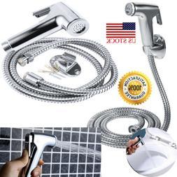Toilet Shattaf Adapter Spray Handheld Bidet Shower Head Wall