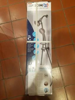 Moen 25000SRN Caldwell Shower System, Spot Resist Brushed Ni