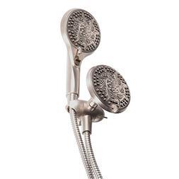Moen Impulse Dual Hand Held Shower Head Combo Set With Hose,