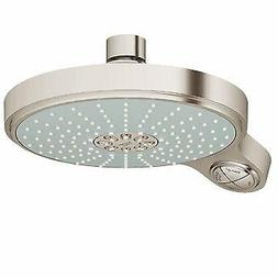Grohe 28 448 Brushed Nickel Movario 2.5 GPM Multi-Function Shower Head