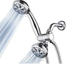Shower Head, 28-Setting Combo Shower Heads with Holder & Hos