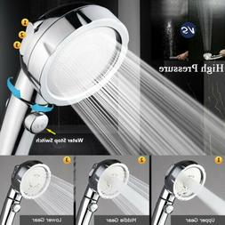 3 In 1 High Pressure Showerhead Handheld Shower Head Hand He