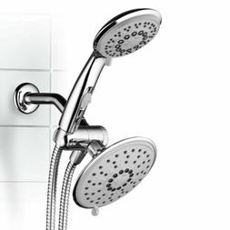 Hydroluxe 30-Setting 3-Way Rainfall Shower Head and Handheld