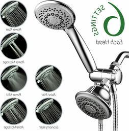 30-Setting SpiralFlo 3-Way HIGH PRESSURE Luxury Shower combo