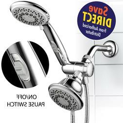 HotelSpa 30-Setting Ultra-Luxury Spiral 3 way Shower-HeadHan