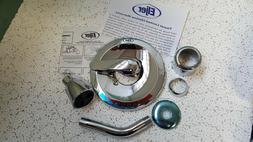 ELJER 3370533 Chrome Trim Kit Shower Set with Vandal Resista