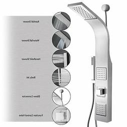 AKDY 39 Stainless Steel Wall Mount Easy Connection Rainfall