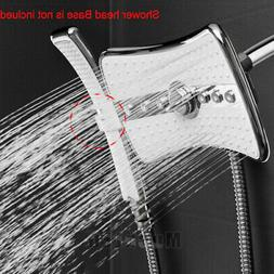 12 Inch Multi-Function Waterfall Rainfall ABS Chrome Shower