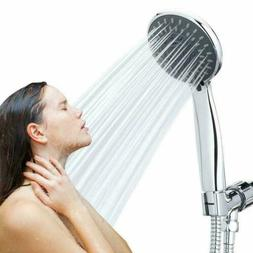 5 Function High Pressure Water Hand Held Shower Head Massage