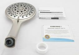 5 Inch 2.5 GPM Multi Function Handheld Showerhead Without Ho