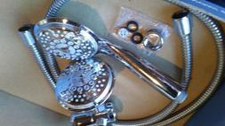 Dream Spa 5 poisition Hand Shower and Shower Head Combo in C