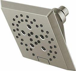 Delta 52664-SS H2Okinetic 5-Setting Raincan Shower head, Sta