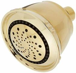Delta Faucet 5-Spray Touch-Clean Shower Head, Polished Brass
