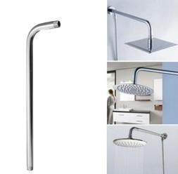 52CM Wall Mount Shower Head Extension Pipe Long Stainless St