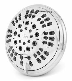 6 function luxury shower head chrome
