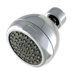LDR 620 1001CP Water Saving Shower Head 1 Function Chrome Fi