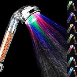 7 Color Change Led Shower Hand Held Bathroom Led Shower Head