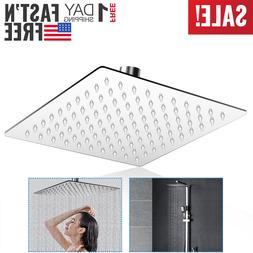 Adjustable Rain Shower Head Waterfall Full Body Silicone Noz