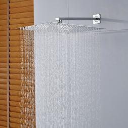 8-inch Shower Head Chrome Top Shower Heads Ceiling Wall Moun