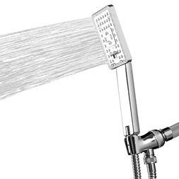 AKDY Bathroom Rectangle 2-Function Rainfall Massage Handheld