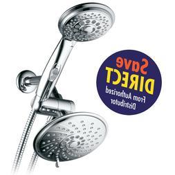 HotelSpa 30-Setting Ultra-Luxury 3 way Rainfall Shower-Head/