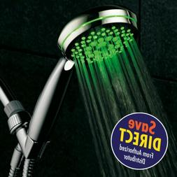 HotelSpa Neon Ultra-Luxury 7-setting LED Hand Shower with Ch
