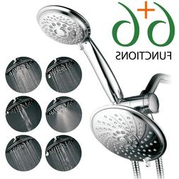 HotelSpa Ultra-Luxury 30-setting 3-way Spiral Rainfall/Handh