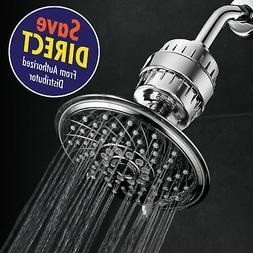 HotelSpa Ultra-Luxury 6 Setting 6 Inch Rainfall Shower Head