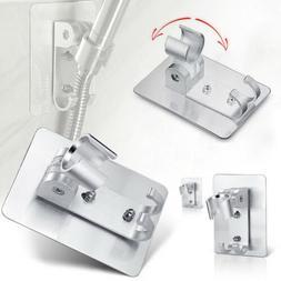 aluminum adjustable bathroom shower head holder stand bracke