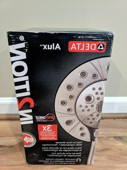 Delta Alux In2ition Alux Two In One Shower Head  Brushed Nic