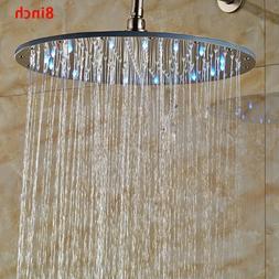 Antique Brass Bathroom Shower Faucet Set Shower Fixture Rain