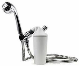 Aquasana AQ-4105CHR Shower Filter with Chrome Wand, Free Fas