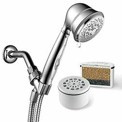 AquaCare By  7-Setting Filtered Handheld Shower Head with Pa