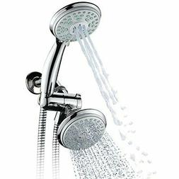 HotelSpa 24-Setting Shower Head and Handheld Shower Combo