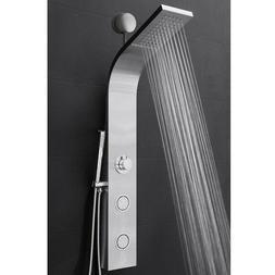 Bathroom Brass Panel Screen Multi Function Shower Head Spray