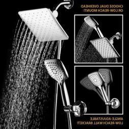 Bathroom Rainfall & Waterfall Shower Head With Handheld Spra
