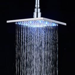 Rozin Bathroom Rainfall Shower Head 8-inch Square Overhead S